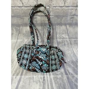 Brown floral Vera Bradley bag, pocketbook